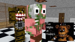 Video Monster School : Five Nights at Freddy's(FNAF) - Minecraft Animation MP3, 3GP, MP4, WEBM, AVI, FLV Juli 2018