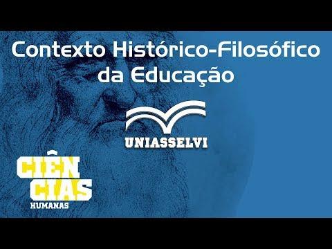 Contexto Histórico-Filosófico da Educação - Unidade 2