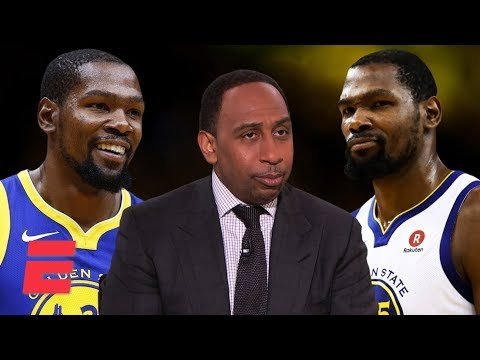 Video: Stephen A's complicated relationship with Kevin Durant throughout the years   NBA on ESPN