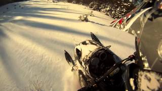 10. 2009 Ski-doo Summit 550f Boondocking GoPro HD