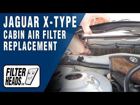how to change the oil on a jaguar x type