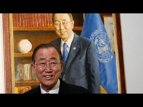 Αποχαιρετιστήρια εμφάνιση του Μπαν Κι Μουν στο Συμβούλιο Ασφαλείας