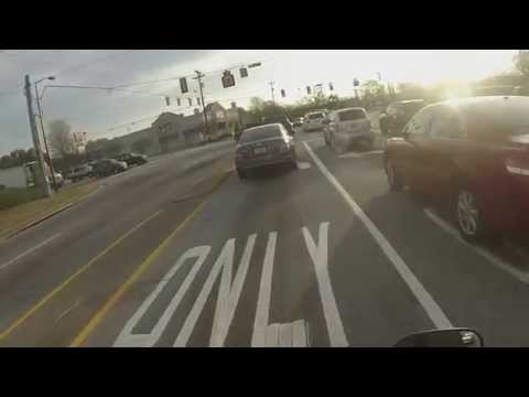High Speed Motorcycle Chase caught on a GoPro