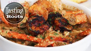 Quick-Style Seafood Chicken Gumbo by Tasty