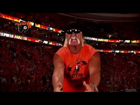 Hulk Hogan&#039;s message for Flyers Fans      - YouTube