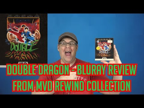 Double Dragon | Collector's Edition Bluray Review (MVD Rewind Collection)