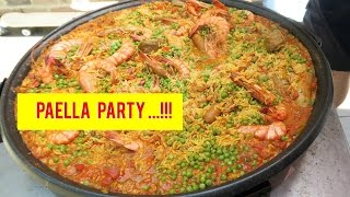 Video Paella Party AT HOME!! VLOG MP3, 3GP, MP4, WEBM, AVI, FLV Maret 2018
