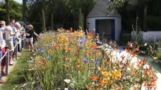 #703 Chelsea Flower Show 2012 - Der Blue Water Garden