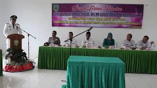 Sambutan Camat Kecamatan Dua Koto yang Baru di lantik Eddie Hasfa S Sos MH