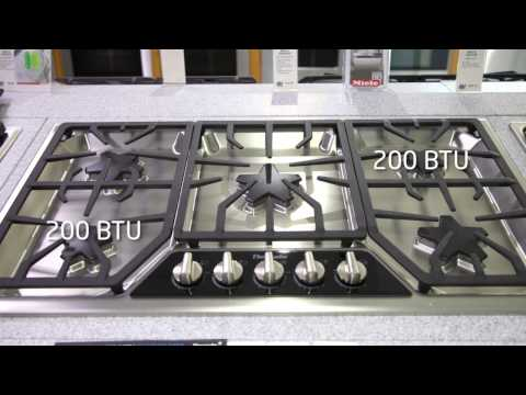 Thermador 36 inch Gas Range Top - SGSX365FSS Features