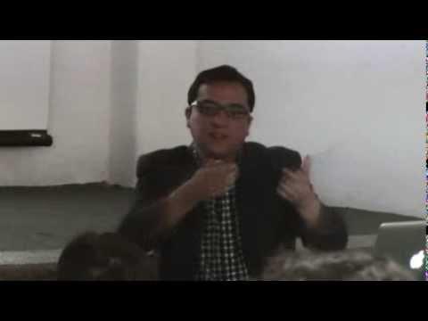 """Conferencia """"Procesos de libertad controlada"""", por Alejandro Romero"""