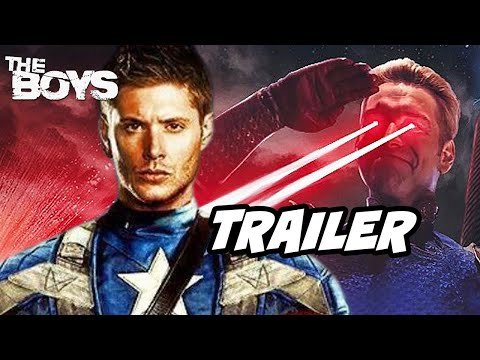 The Boys Season 3 Teaser Trailer Jensen Ackles Breakdown - Marvel Avengers Movies Easter Eggs