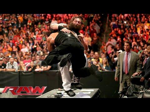 Roman Reigns vs. Bray Wyatt: Raw, Sept. 28, 2015