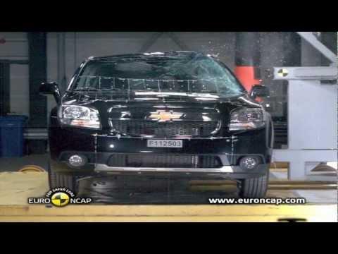 Chevrolet Orlando Crash test New Chevrolet Orlando 2012