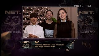 Video Band/Group/Duo of the Year - Indonesian Choice Awards 2017: GAC MP3, 3GP, MP4, WEBM, AVI, FLV Mei 2018