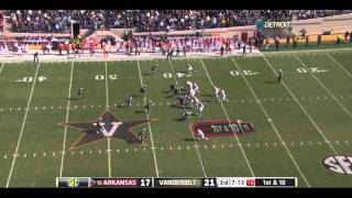 Jarius Wright vs Vanderbilt 2011
