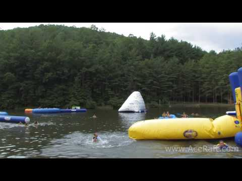 High Flying Fun | ACE Lake Blob Big Air Contest HD Video