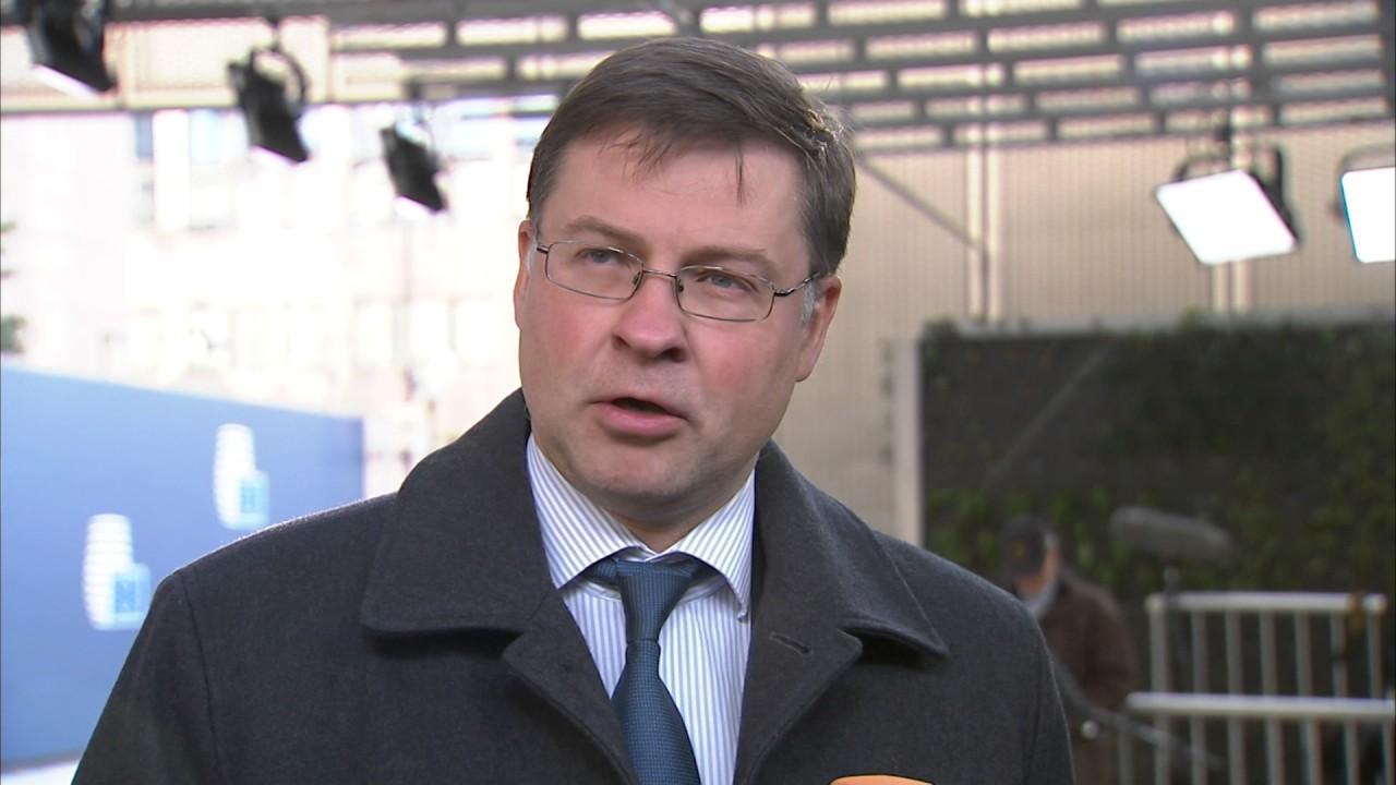 Ντομπρόβσκις: Επιτεύξιμη η συμφωνία