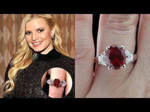 9 Famous Gemstone Engagement Rings