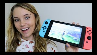 *SPOILERS IN THIS VIDEO* THIS GAME IS MY LIFE. Ever since I played Wind Waker on the Gamecube when I was younger, I was addicted to Legend of Zelda. Always has and always will be one of my favorite video games! Breath of the Wild confirmed my love even more. I am absolutely in awe of this game, and of the Nintendo Switch. It was such a beautiful addition to the video game world. The Switch is just so practical. Today, all I did was a couple of side quests just to test out the waters for you guys! Let me know if you want more! :) Much love!Taylor Darling Channel : https://www.youtube.com/channel/UCtdKQcsoZSYc2EepRto2JSAsnapchat: asmrdarlinginstagram: https://www.instagram.com/asmrdarling/facebook: https://www.facebook.com/ASMR-Darling...twitter: https://twitter.com/asmrDarling?lang=enP.O Box : Box # : 951539Lake Mary, FlZip : 32795