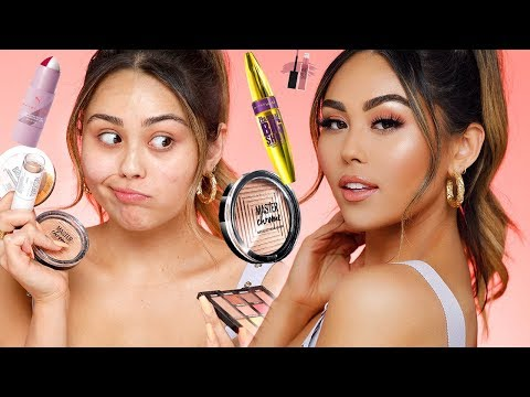 Drugstore Everyday Glam Makeup Tutorial using ONLY my Holy Grail Maybelline Products | Roxette Arisa