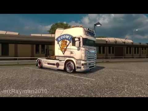 Finland skin for Scania R & Streamline (RJL)