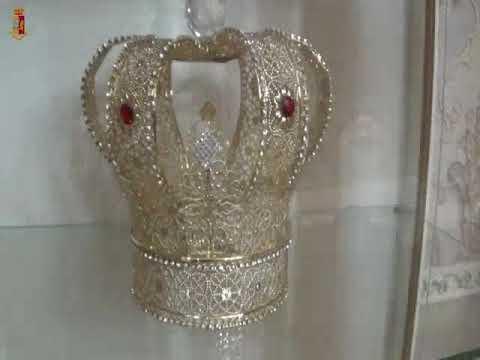 La corona a casa del narcotrafficante IL VIDEO DEL BLITZ