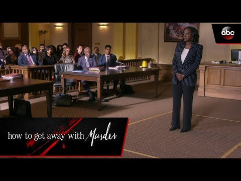 Annalise's Closing Argument - How To Get Away With Murder
