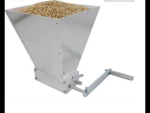 Дробилка для зерна ютуб