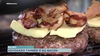 Advogado encontra no bacon uma alternativa para sair da crise