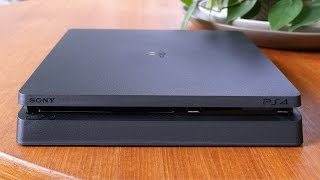 Sony PlayStation 4 Slim Unboxing, Setup and Impressions