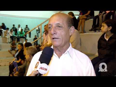 Abertura dos Jogos Escolares 2008 em Iúna - Entrevista com Lediu Tiengo