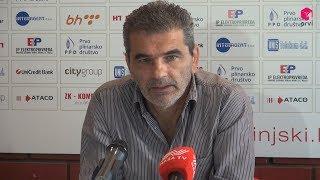 Slišković:''Igrat ćemo otvoreno i za gol više''