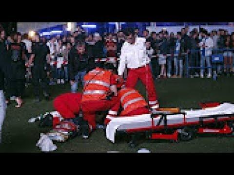 Vdes akrobati, bie nga 30 metra lartësi në sytë e mijëra spektatorëve (Video +18)