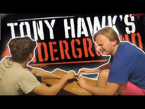 Two Boys Score A 1,000,000 Point Grind On Tony Hawk's Underground (видео)