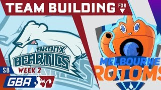 Bronx Beartics - Team Building for the Melbourne Rotoms [GBA S8 W2] by PokeaimMD