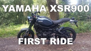 10. 2017 Yamaha XSR900 - A Walk Around and Review