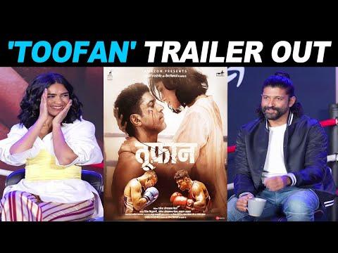 Farhan Akhtar Mrunal Thakur starrer Toofan trailer out