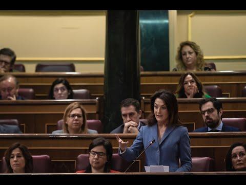 Intervención de Valentina Martínez en la Sesión de Control al Gobierno