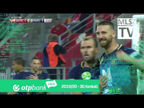 30. forduló: DVTK - PAFC 1-2 (1-1)