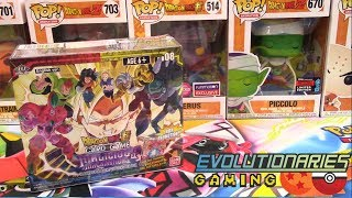 JAW DROPPING Dragon Ball Super Set 8 Booster Box Opening!! by The Pokémon Evolutionaries