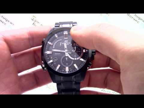 Часы Casio Edifice EQB-510DC-1A [EQB-510DC-1AER] - Видео обзор от PresidentWatches.Ru (видео)