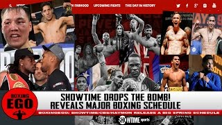 SHOWTIME DROPS THE BOMB ON HBO/FANS RELEASES MASSIVE BOXING SCHEDULE (ShoSports)