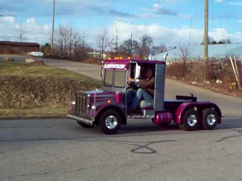 golf cart semi truck build #1