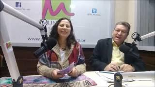 Programa A Luz do Saber com Cigana Dhara Jogando Cartas
