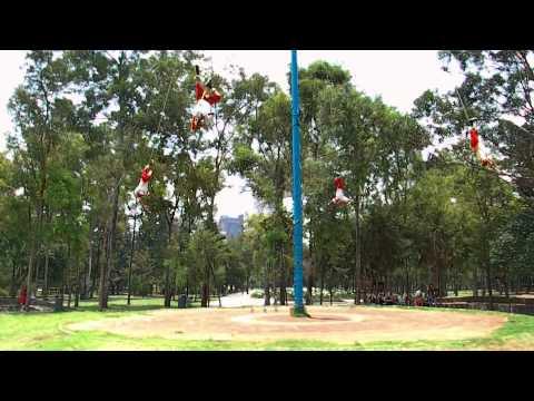 Los Voladores, Mexico - Ciudad Mexico - Meksyk