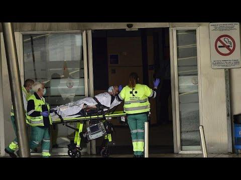 Ισπανία-COVID-19: Λιγότεροι από 300 νεκροί για δεύτερο 24ωρο