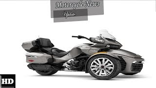 4. HOT NEWS  !!! 2018 Can Am Spyder F3 T F3 T Limited Engine and Price Review