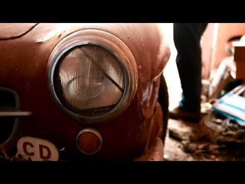 MERCEDES 190SL Barn Find