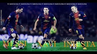 Video Messi, Xavi & Iniesta - Magical Ball Controls (HD) MP3, 3GP, MP4, WEBM, AVI, FLV Oktober 2018